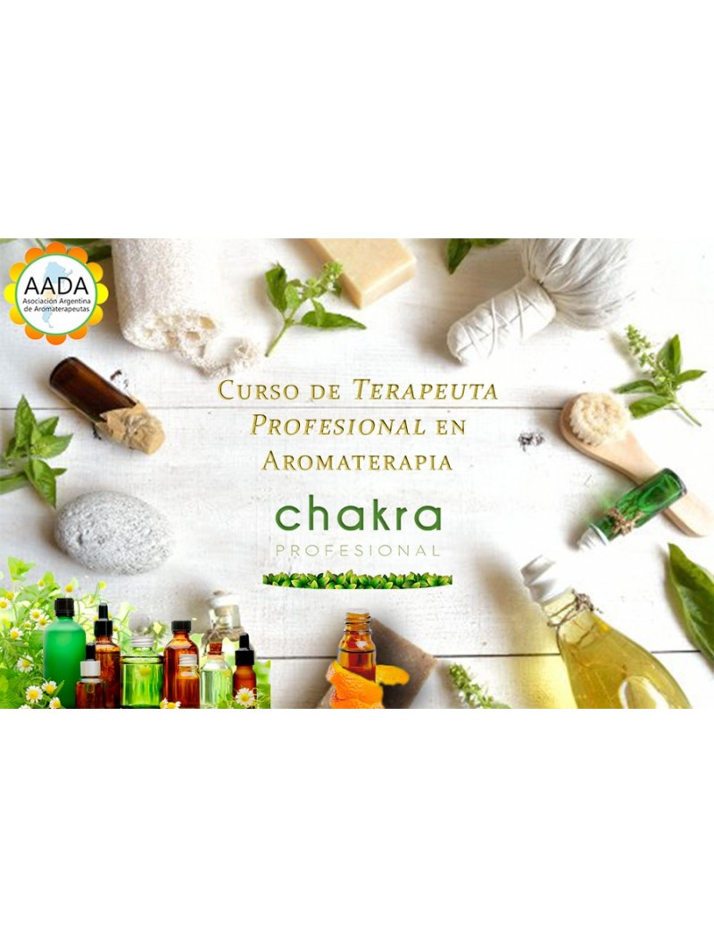 Curso de Terapeuta Profesional en Aromaterapia