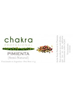 Aceite Semi-Natural de Pimienta x 11ml