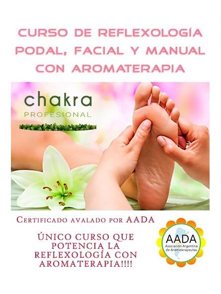 Curso de Reflexología con Aromaterapia